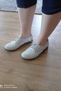 Skórkowe buty Robson