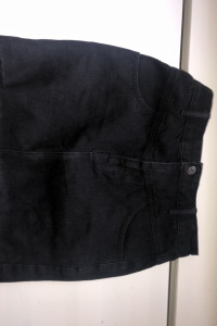 Czarna dżinsowa spódniczka...