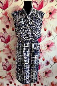 part two sukienka midi modny wzór melanż nowa hit 36 38...