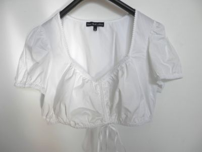 Bluzki Bluzka Crop Top Bralet Marszczenie z Przodu sOliver 42