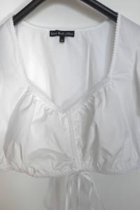 Bluzka Crop Top Bralet Marszczenie z Przodu sOliver 42...
