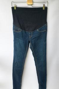 Spodnie Jeansowe Tregginsy H&M Mama M 38 Super Skinny Rurki...