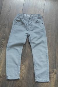 Spodnie szare nowe 98 104...