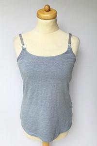 Koszulka Bluzka Niebieska H&M Mama Do Karmienia M 38...
