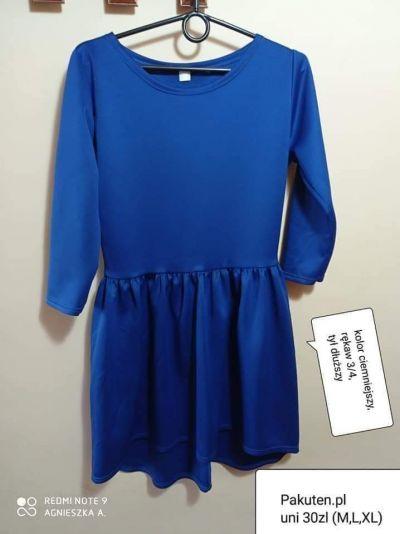 Suknie i sukienki Sukienka uni chaber elegancka weselna