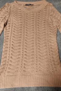 Beżowy ażurowy sweterek Atmosphere XS S...