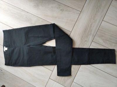 Spodnie Czarne tregginsy H&M XS