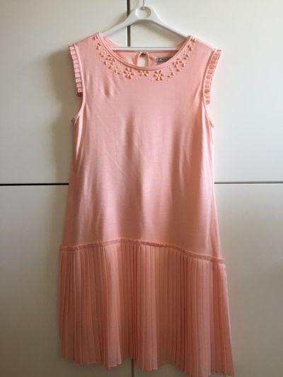 Suknie i sukienki Plisowana wizytowa elegancka sukienka