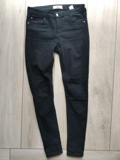 Spodnie Czarne rurki Mango Paty Skinny S