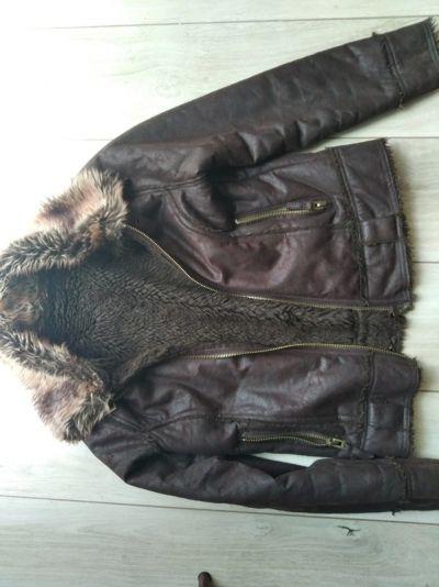 Odzież wierzchnia Futrzana kurtka S
