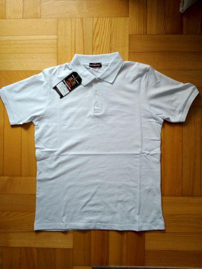 Koszulki i t-shirty Koszulka polo biała nowa polówka M L XL XXL Tomy Parker