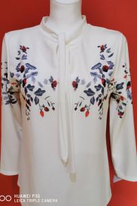 Bluzka bluzeczka kwiaty koszula...