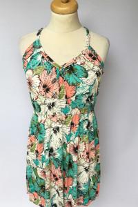 Sukienka H&M M 38 Kwiaty Letnia Kwiatki Kolorowa...