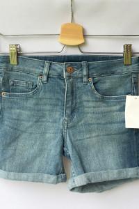 Spodenki Dzinsowe H&M XS 34 Nowe Jeansowe Jeans Dzins...