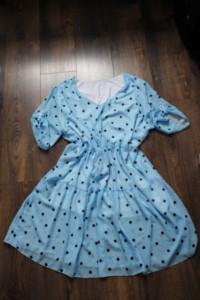 Nowa sukienka w groszki 48 50...