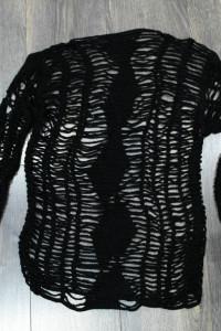 Bluzeczka siatka szydełkowa 36...
