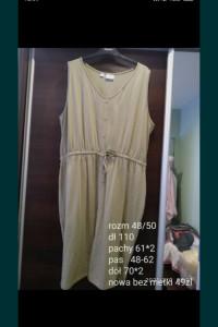 Sukienka szmajzerka Plus size...