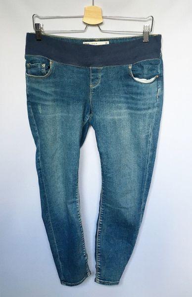 Spodnie Spodnie Ciążowe Asos Denim L 40 Dzinsy Przetarcia