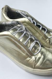 Tenisówki Złote Trampki Steve Madden 40 26 cm
