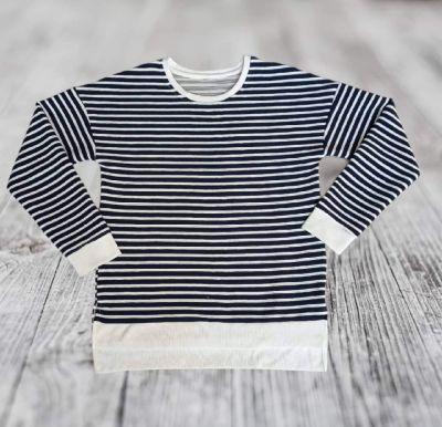 Bluzy Klasyczna bluza w paski