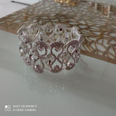Bransoletki Kryształowa bransoletka slub wesele
