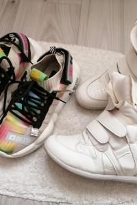 Sneakersy sportowe Big Star i Gratis białe r38 245