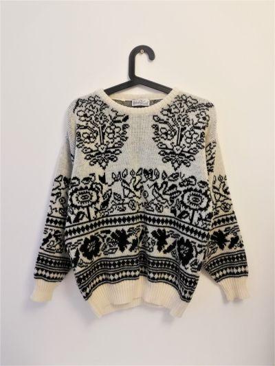 Swetry Piękny sweterek włoski projekt Roberto Vicenti z wełną