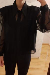 Czarna koszula vintage