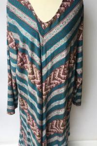 Sukienka Wzory Cellbes 58 60 Wzory Aztec NOWA Asymetryczna...