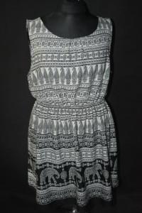 3 Zwiewna sukienka taliowana New look Inspire 52...
