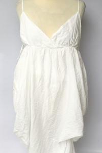 Sukienka Biała Asymetryczna XL 42 Atmosphere Kopertowa...