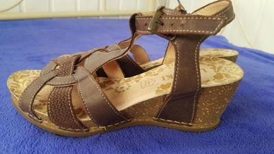 Sandały Lasocki sandałki ze skóry 37