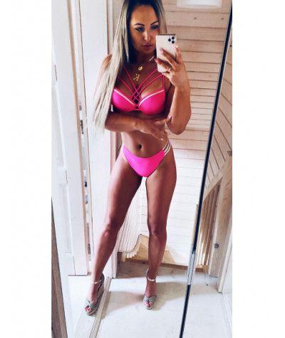 Stroje kąpielowe Model Paloma Pink Figi