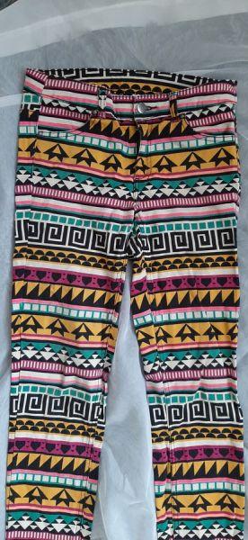 Spodnie rurki HM S wzory
