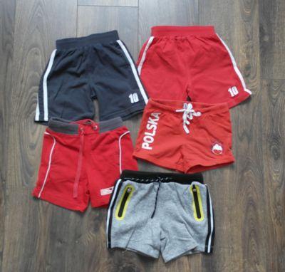 Spodnie i spodenki Spodenki 5 sztuk 92 98 104