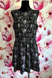 atmosphere sukienka modny wzór czaszki kwiaty zip 42...