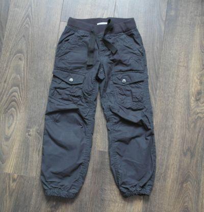 Spodnie i spodenki Spodnie bojówki bawełniane ciepłe 110
