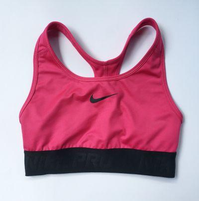 Biustonosze Stanik Sportowy Różowy Róż Nike Dri Fit Pro S 36 Top