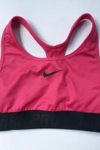 Stanik Sportowy Różowy Róż Nike Dri Fit Pro S 36 Top...