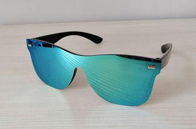 Okulary Przeciwsłoneczne lustrzane okulary Niebieskie nowe