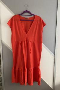 Sukienka soczysty kolor...