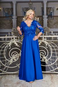 Sukienka Crystal rozmiar 44 52 54 chabrowa...