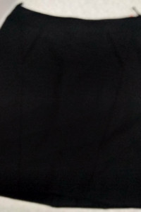spódnica czarna prosta rozmiar 46...
