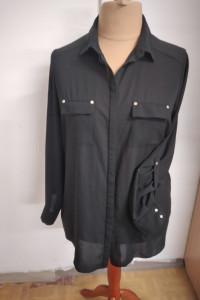 Czarna koszula damska rozmiar 44...