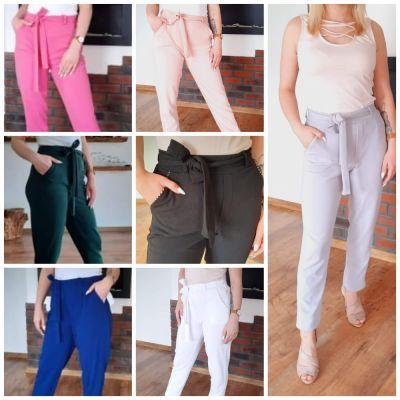 Legginsy Elastyczne eleganckie spodnie różne kolory od M do 10xl