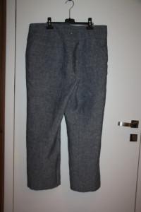 Szare spodnie lniane C&A rozmiar XXXL...