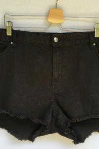 Spodenki Czarne H&M Plus 50 5XL Krótkie Szorty...