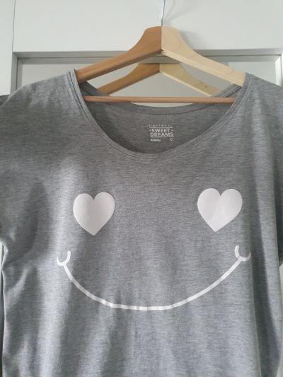 Piżamy Piżamka xl serduszka
