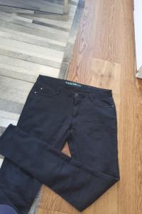 Spodnie super skinny 42 XL elastyczne wysoki stan