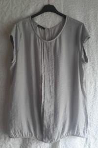 Cienka przewiewna szara bluzka Bianca rozmiar L...